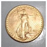 1920 US $20 Flying Eagle Gold Coin
