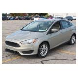 UM# 187 2015 Ford Focus Sedan w/ 34,379 Miles