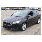 UM# 358 2015 Ford Focus Sedan w/ 19,235 Miles