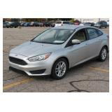 UM# 515 2015 Ford Focus Sedan w/ 62,337 Miles