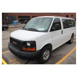 UM# 1178 2015 GMC Savanna Work Van w/ 15,687 Mile