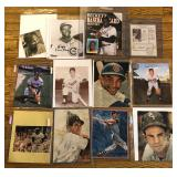 #575 Hall of Fame and Baseball Greats Signed Photos