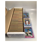 #621 1975 + 76 Topps Partial sets w/ stars incl. Bret Rookie