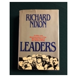 #611 Richard Nixon Signed and Inscribed Leaders Book