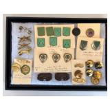 #474 Great Tank Battalion related pins