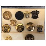 #476 Army Quartermaster Pins