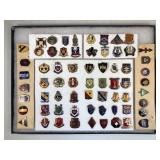 #481 Military Related emblem and pin lot