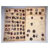 #483 Medical pin lot #1 Mostly Field Hospitals