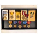 #500 (11) War metals incl. United Nations Korea