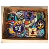 #504 Great lot of colorful military submarine patches