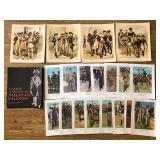 #514 Lot of Military Prints- Progression of the American Soldier