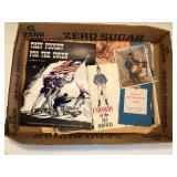 #517 Misc. Military ephemera incl. Uniforms of the sea services