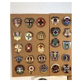 #482 Close up of pins