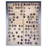 #484 Medical pin lot #2 Evacuation Hospital pins