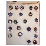 #484 Large variety of Medical Pins