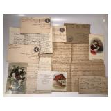 Full of vintage postcards, stamps, and timeless endearing dialogue