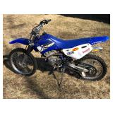 #751 2 Stroke Dirt Bike VIN# JYACE07Y14A073951