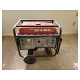 #752 Kawasaki OHV GE4300A Portable Generator