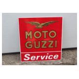 Moto Guzzi Service plastic sign
