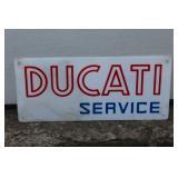 Ducati Service plastic- white