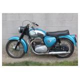 1963-64 BSA 500 (A-50) w/ 14,682 miles