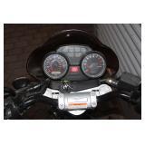 Missing headlight, brake lever