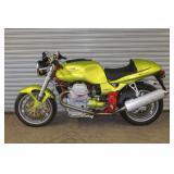2000 Moto Guzzi V 11 Sport w/ 5 miles