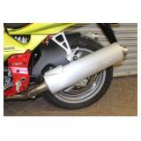 Missing front brake fluid reservoir mount