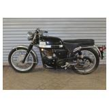 Velocette motorcycle w/ 4853 miles