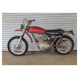 Ducati Dezmo dirt bike w/ bad repaint job