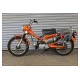 Honda Trail 90 scooter w/ 3497 miles
