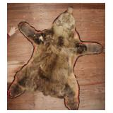Jonas Brothers brown bear pelt