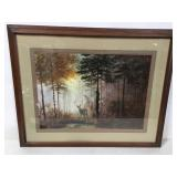 Coulson forest scene print