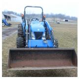 2010 New Holland 270 TL front loader