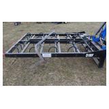 2013 Kuhns 510F 10 bale grabber