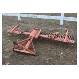 3pt. adjustable York rake
