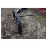 Skid Steer bale spear #1