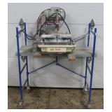 MK wet tile saw on stand