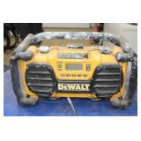 HD DeWalt Work Site Radio