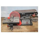 Black and Decker table top belt sander