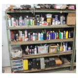 Misc. solutions on industrial shelving