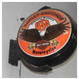 Harley Davidson dbl. sided globe
