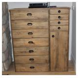 Anthropology Barn Wood chest dresser