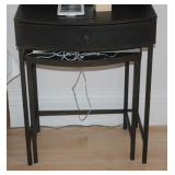 Pair of single drawer end table
