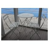 small patio set of 3