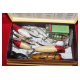 Fishing boxes full