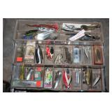 Tackle boxes full