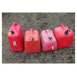 Misc. gas cans- plastic