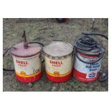 Shell greese buckets
