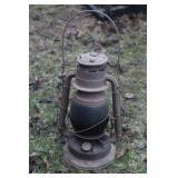 antique barn lantern